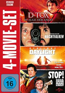 Sylvester Stallone - 4-Movie-Set [4 DVDs]