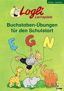 Buchstaben-Übungen für den Schulanfang (Logli-Lernspiele)