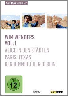 Wim Wenders - Arthaus Close-Up, Vol. 1 [3 DVDs]