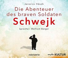 Die Abenteuer des braven Soldaten Schwejk (8 Audio-CDs in Klappbox mit 588 Minuten)