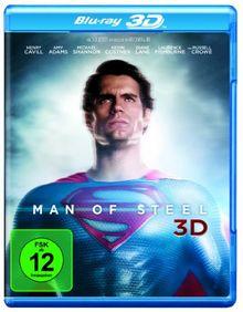 Man of Steel 3D [3D Blu-ray]