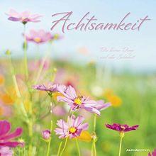 Achtsamkeit 2020 Bildkalender 33 X 33 Harmonie Entspannung Natur Mit Spruchen Wandkalender Von Alpha Edition