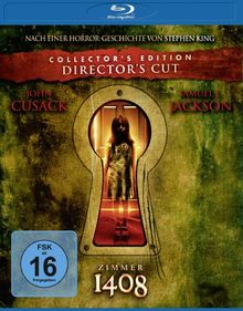 Zimmer 1408 (Collector's Edition - Director's Cut) [Blu-ray]
