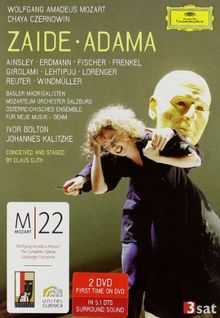 Mozart, Wolfgang Amadeus / Czernowin, Chaya - Zaide / Adama (2 DVDs)
