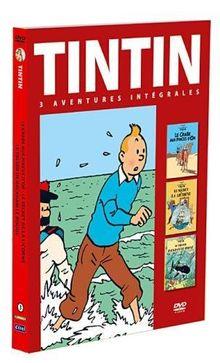 Coffret tintin, vol. 3 : le secret de la licorne ; le trésor de rackham le rouge ; le crabe aux pinces d'or [FR Import]