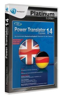 Avanquest Platinum Edition - Power Translator 14 Express