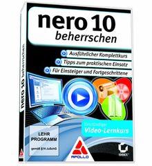 Nero 10 beherrschen - Einstündiger Video-Lernkurs