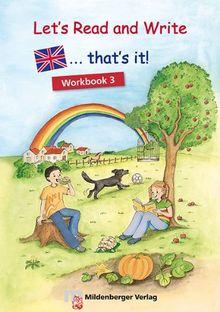 that's it! 1 Workbook Klasse 3