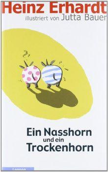 Ein Nasshorn und ein Trockenhorn