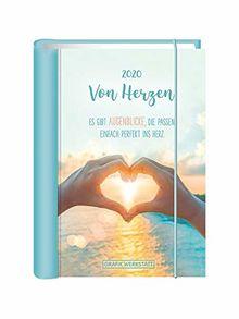 """Terminplaner 2020 """"Von Herzen"""": Terminplaner Hardcover"""