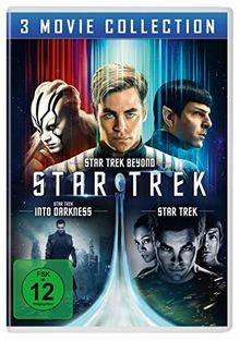 STAR TREK - Three Movie Collection [3 DVDs]