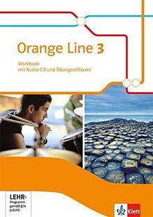 Orange Line / Workbook mit Audio-CD und Übungssoftware 7. Schuljahr: Ausgabe 2014 / Ausgabe 2014