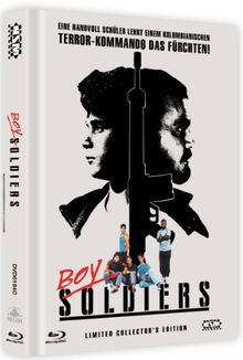 Boy Soldiers - Toy Soldiers (DVD+Blu-Ray) uncut streng limitiertes Mediabook Cover C [Limited Collector's Edition] [Limited Edition]