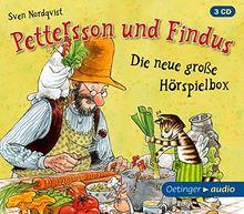 Pettersson und Findus - Die neue große Hörspielbox (3 CD): Hörspielbox, ca. 85 min.