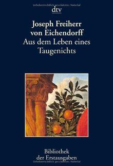 Aus dem Leben eines Taugenichts: Berlin 1826