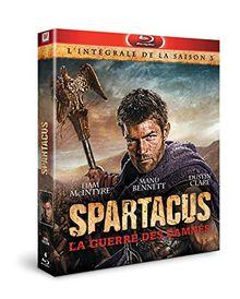 Coffret spartacus, saison 3 : la guerre des damnés [Blu-ray]