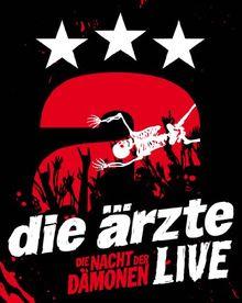 Live - Die Nacht der Dämonen im Digipack [Blu-ray]