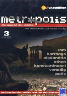 Metropolis - Die Macht der Städte, Vol. 1-3 [3 DVDs]