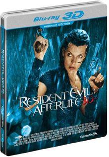 Resident Evil - Afterlife (3D + 2D Version im Limited Steelbook, exklusiv bei Amazon.de) [Blu-ray]