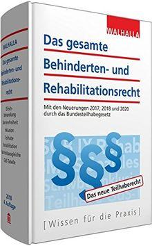 Das gesamte Behinderten- und Rehabilitationsrecht Ausgabe 2018
