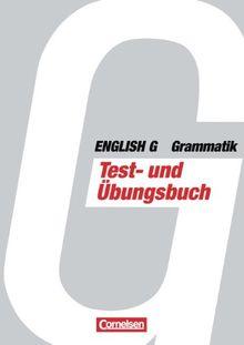 English G, Grammatik, Testbuch und Übungsbuch