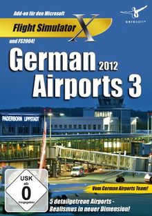 Flight Simulator X - German Airports 3-2012 (Add-On)