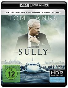 Sully (4K Ultra HD + 2D-Blu-ray) (2-Disc Version) [Blu-ray]