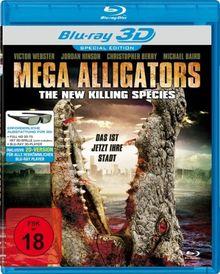 Mega Alligators - The New Killing Species [Blu-ray 3D] (Special Edition)