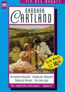 Verzauberte Unschuld / Stunden der Sehnsucht / Rache des Herzens / Die Liebe siegt. Vier romantische Liebesromane.
