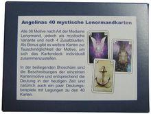 Angelinas 40 mystische Lenormandkarten: 49 Karten (36x Lenormand,4 Ergänzungskarten und 9 Motivtauschkarten)