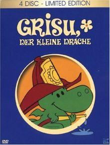 Grisu - Der kleine Drache 1-4 (4er DVD Digipack mit Ansteckbutton) Limitiert auf 3.000 Stück [Limited Edition]