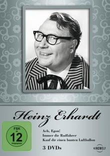 Heinz Erhardt - Ach, Egon! / Immer die Radfahrer / Kauf Dir einen bunten Luftballon (3 DVD