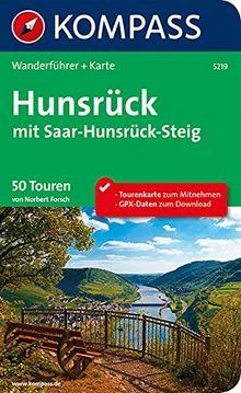 Hunsrück mit Saar-Hunsrück-Steig: Wanderführer mit Extra Tourenkarte zum Mitnehmen. (KOMPASS-Wanderführer)