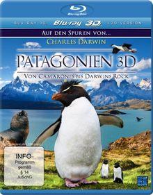 Patagonien 3D - Auf den Spuren von Charles Darwin: Von Camarones bis Darwins Rock [3D Blu-ray]