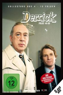 Derrick - Collector's Box Vol. 4 (Folge 46-60) [5 DVDs]