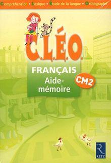 pack C.L.E.O cm2 français aide-mémoire