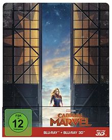Captain Marvel [3D Blu-ray] [Limited Edition]