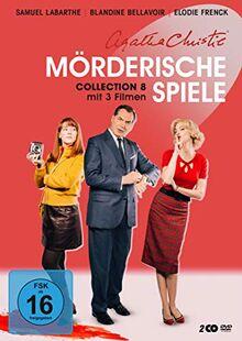 Agatha Christie: Mörderische Spiele - Collection 8 [2 DVDs]