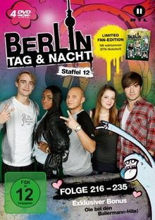 Berlin - Tag & Nacht - Staffel 12 (Folge 216-235) [Limited Edition] [4 DVDs]