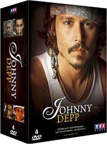 Johnny Depp : Donnie Brasco / Le chocolat / Neverland / Las Vegas Parano [FR Import]