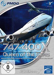 Flight Simulator X - FSX PMDG 747-400 X (Add-On)