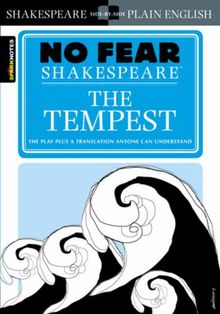 The Tempest (No Fear Shakespeare) (Sparknotes No Fear Shakespeare)
