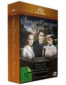 Barbara Cartland's Favourites - Komplettbox (Wagnis der Liebe / Gefährdete Liebe / Ein Phantom in Monte Carlo / Duell der Leidenschaften) [4 DVDs]