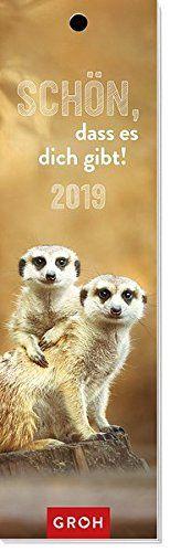 Schön, dass es dich gibt 2019: Lesezeichenkalender