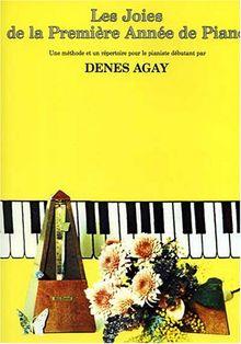 Agay Les Joies De La Premiere Annee De Piano Pf