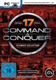 Command & Conquer - The Ultimate Collection [Download-Code, kein Datenträger enthalten]