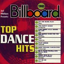 Billboard Top Dance Hits 1983