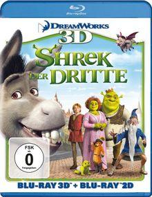 Shrek 3 - Shrek der Dritte (+ Blu-ray 3D) [Blu-ray]