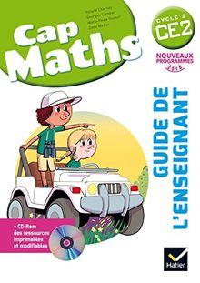 Cap Maths CE2 : Guide de l'enseignant (1Cédérom)