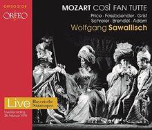 Mozart Cosi Fan Tutte (Bayerische Staatsoper, 1978) [2 CDs]